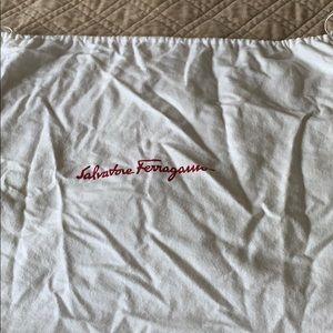 White dust bag original Salvatore Ferragamo